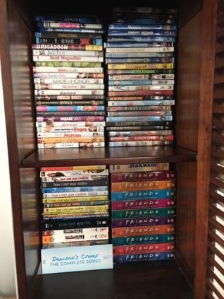 DVDs kept