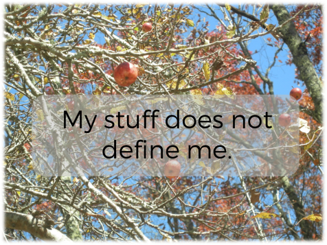 my stuff does not define me