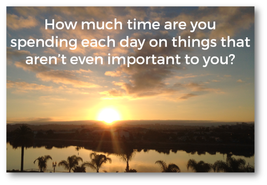 spend time on what is important